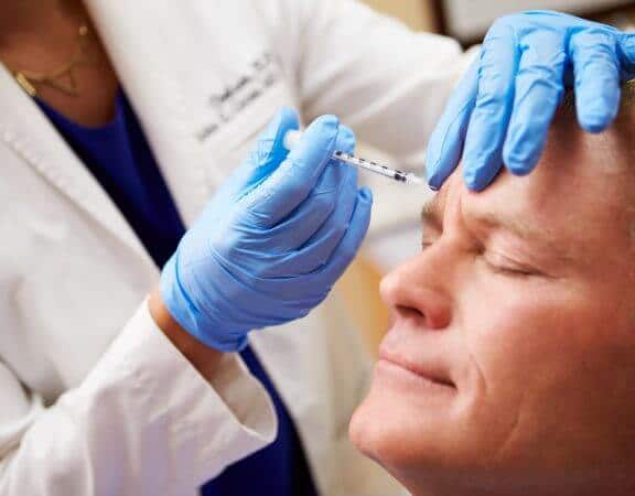 Botox for men in Liverpool Street, London