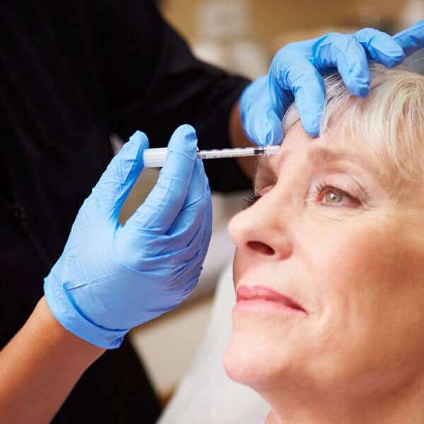 Botox wrinkle reduction treatment at Bishopsgate Dental Care in London
